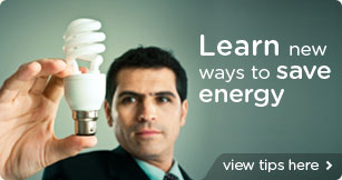 Find out new ways to save energy